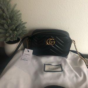 New Gucci Marmont Black Mini bag